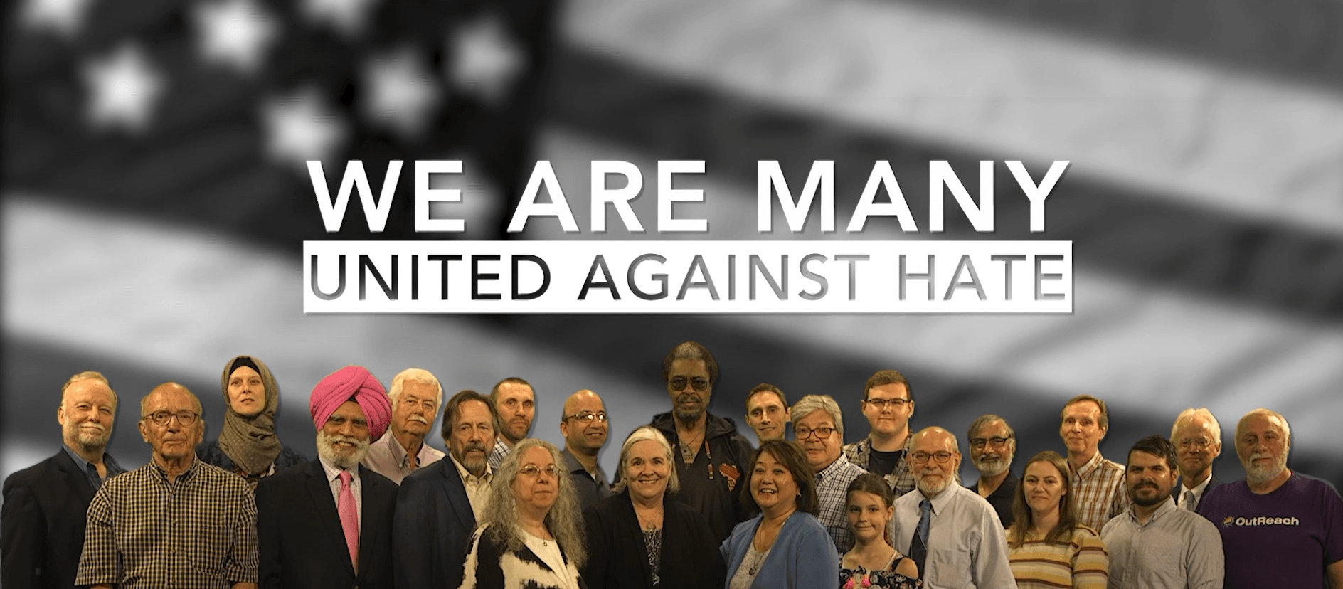 We Are Many - United Against Hate